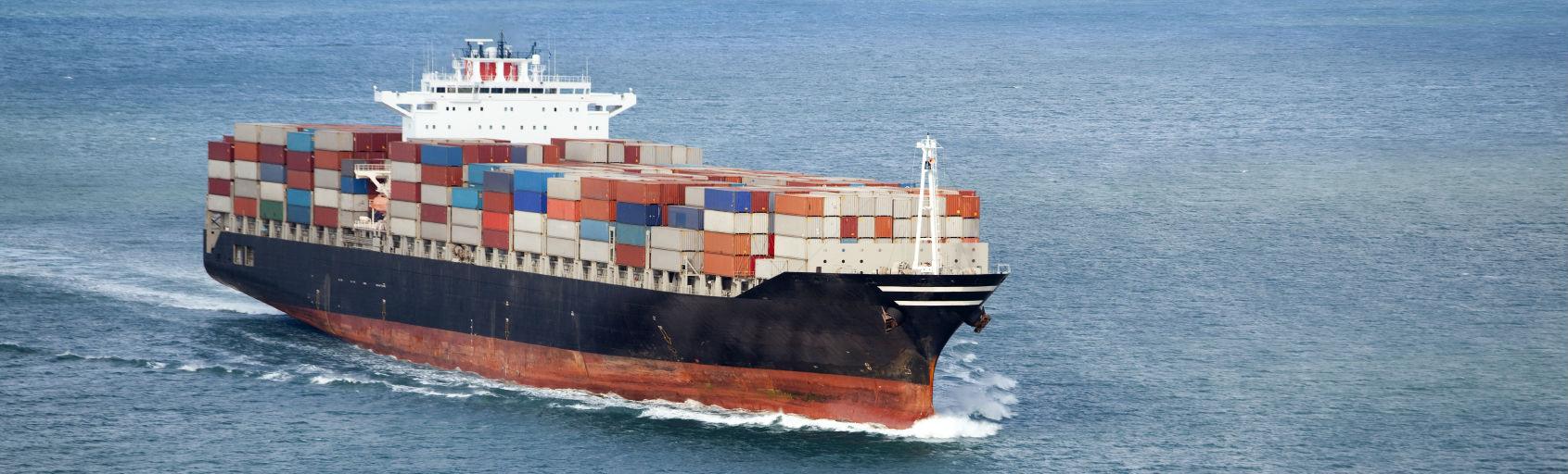 Meevaren Met Een Vrachtschip Unieke Manier Van Reizen