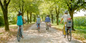 casque de vélo sécurisant