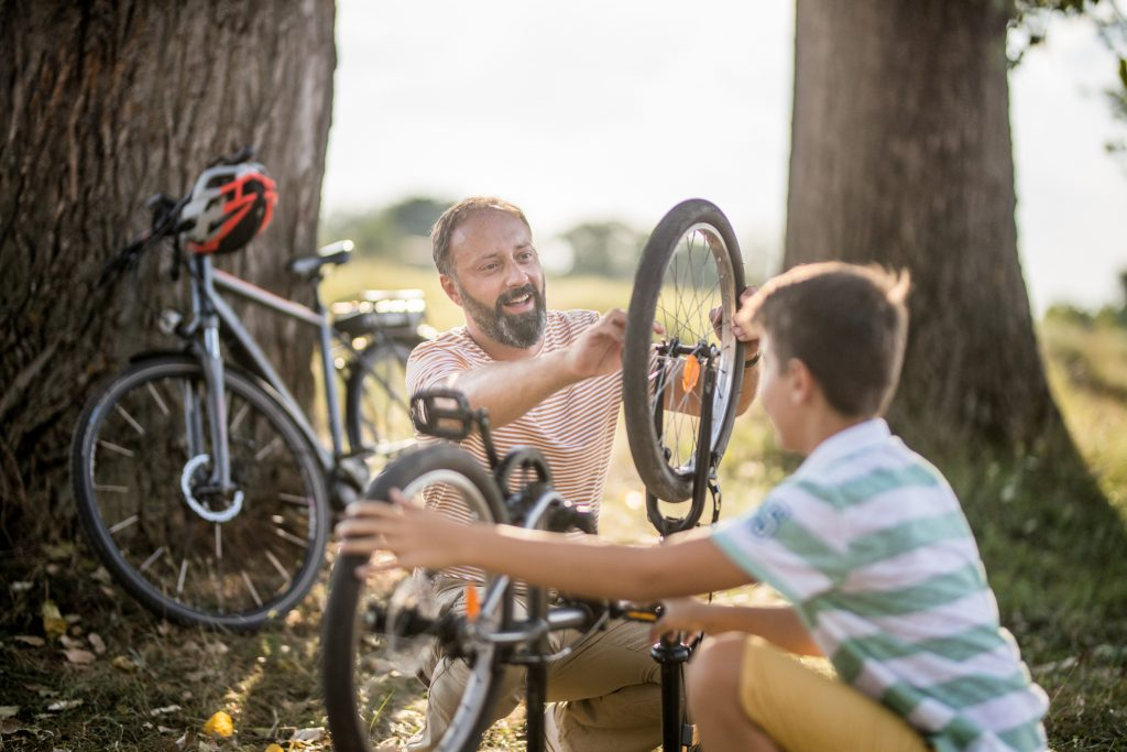 remplacer un pneu de vélo