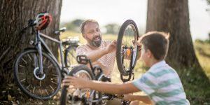 fietsband vervangen