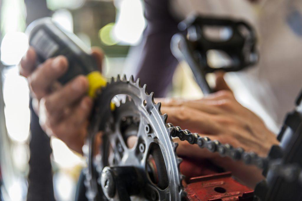 fietsketting schoonmaken