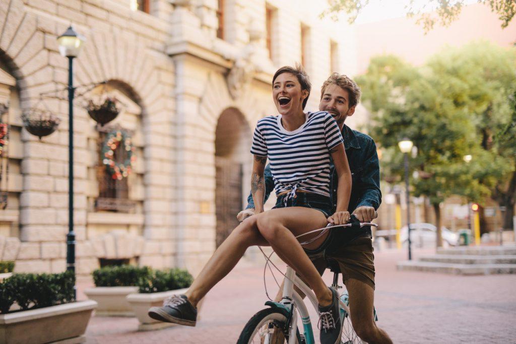 rouler vélo ville