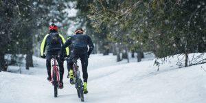 Rouler à vélo en hiver
